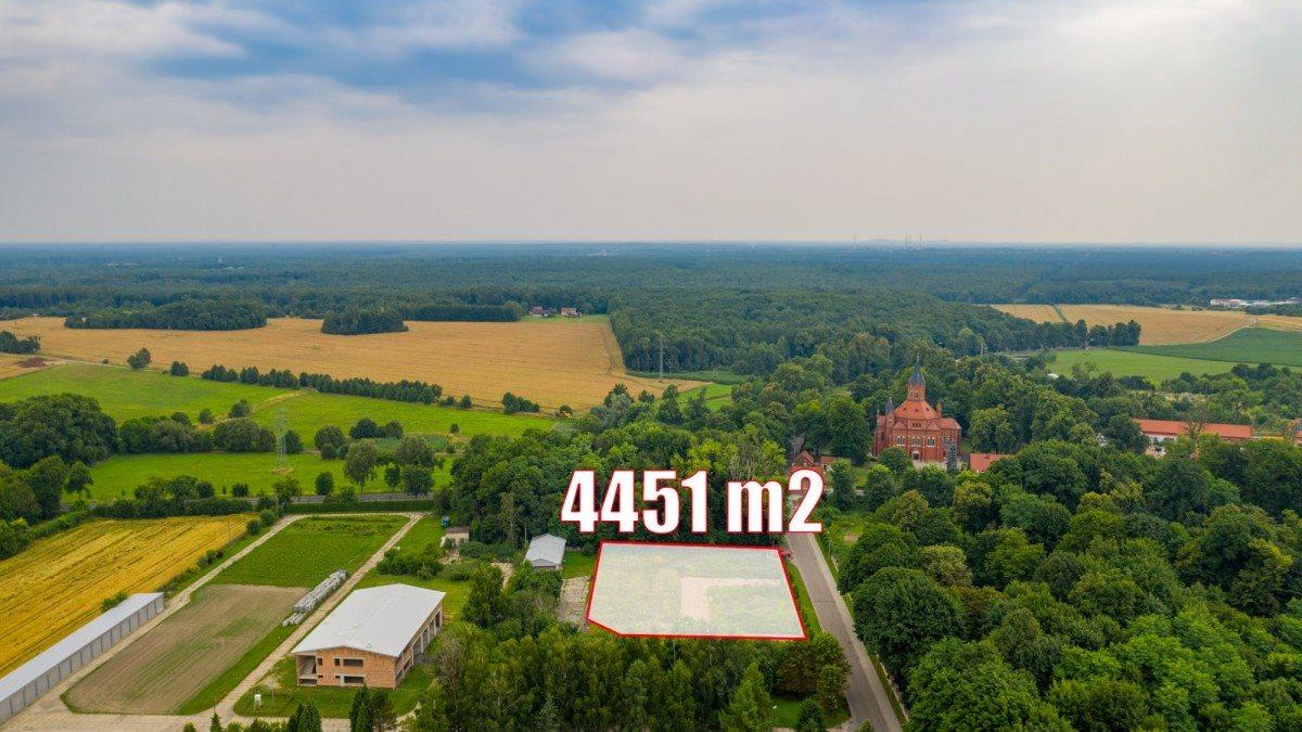 Działka przemysłowo-handlowa na sprzedaż Nakło Śląskie, Powstańców  4451m2 Foto 1