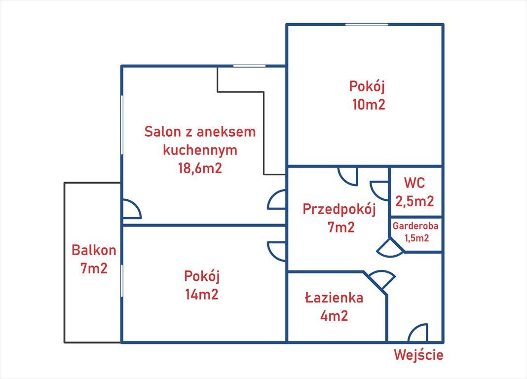 Mieszkanie trzypokojowe na sprzedaż Warszawa, Białołęka, Płudy, Podgórna 18  58m2 Foto 4