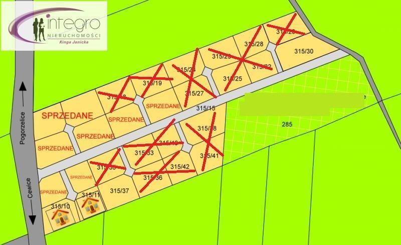 Działka budowlana na sprzedaż Cewice, Jezioro, Las, Rzeka, Tereny rekreacyjne  1623m2 Foto 1