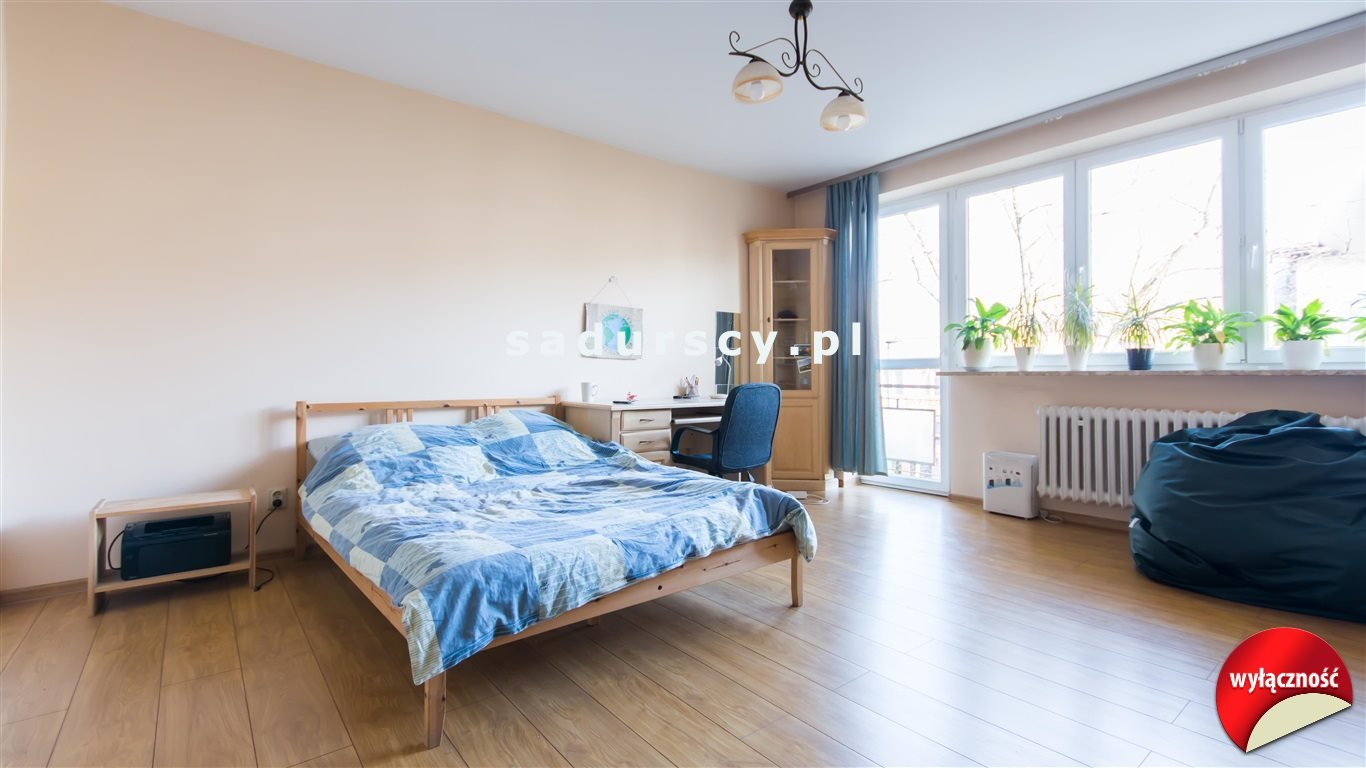 Mieszkanie trzypokojowe na sprzedaż Kraków, Grzegórzki, Osiedle Oficerskie, Kielecka  77m2 Foto 5