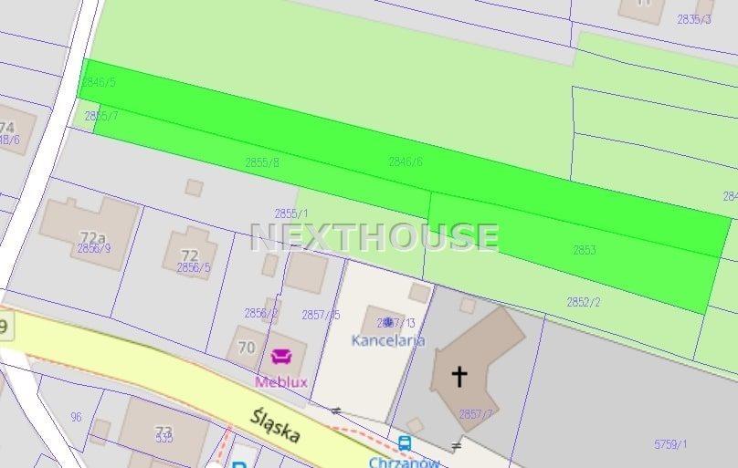 Działka rolna na sprzedaż Chrzanów  3599m2 Foto 1