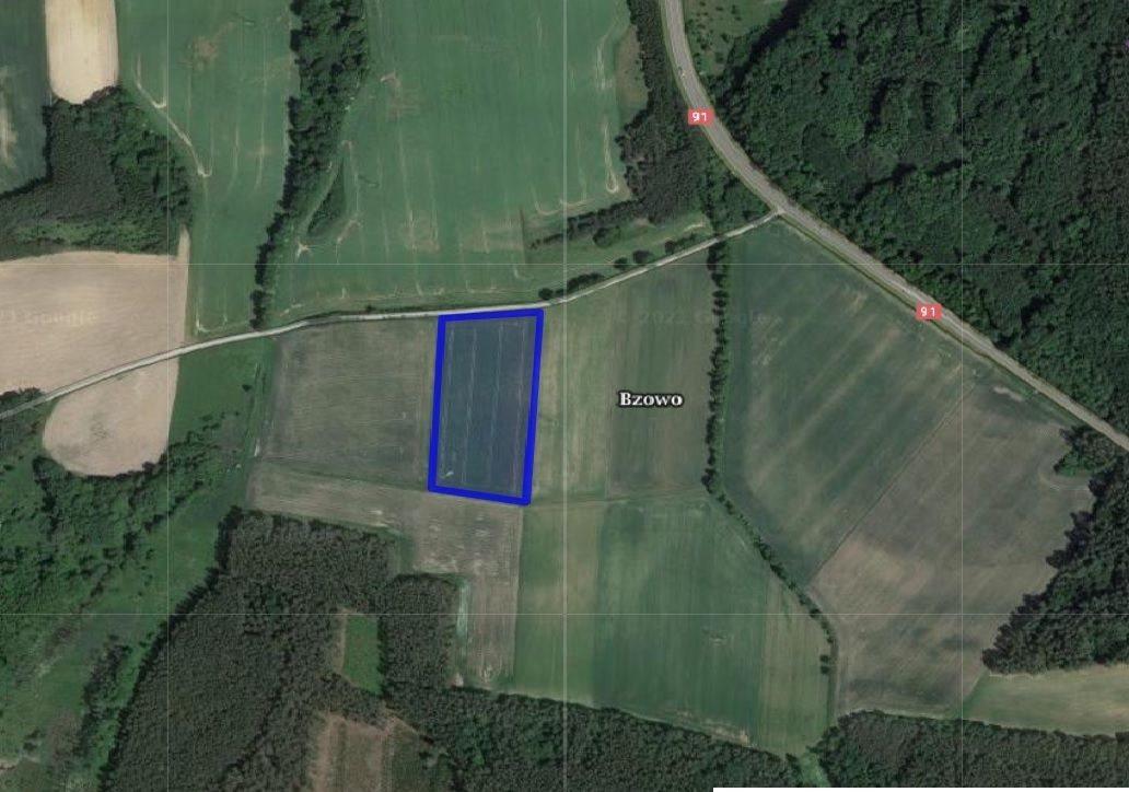 Działka rolna na sprzedaż Bzowo  17180m2 Foto 1