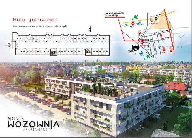 Mieszkanie trzypokojowe na sprzedaż Leszno, Sobieskiego  54m2 Foto 7