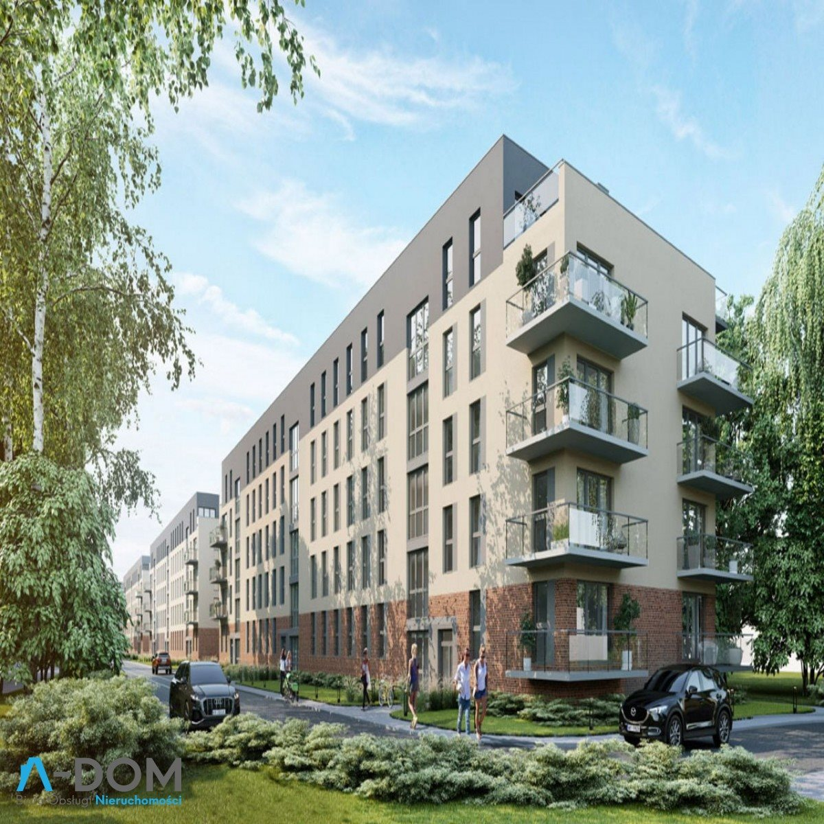 Mieszkanie dwupokojowe na sprzedaż Poznań, Malta, abpa Walentego Dymka  41m2 Foto 7