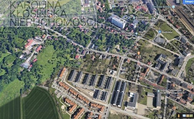 Działka budowlana na sprzedaż Wrocław, Wrocław-Krzyki, Koreańska  5500m2 Foto 1