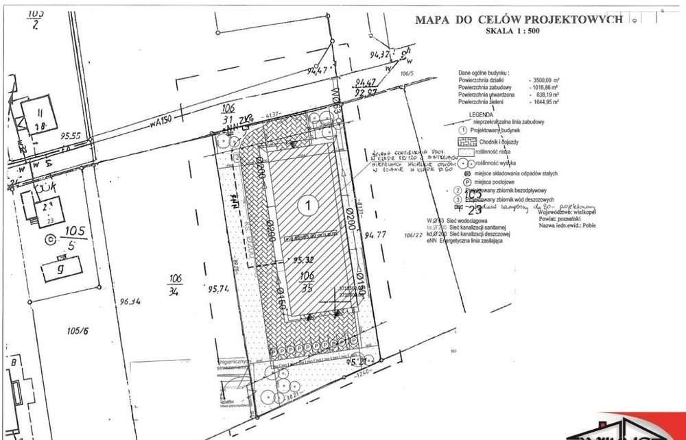 Działka przemysłowo-handlowa na sprzedaż Bugaj, Jasińska  3500m2 Foto 12