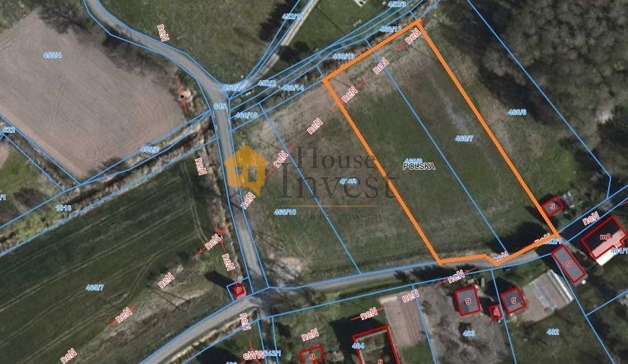 Działka budowlana na sprzedaż Lubiatów  3700m2 Foto 1