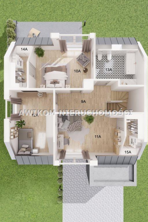 Dom na sprzedaż Wycinki Osowskie  149m2 Foto 3