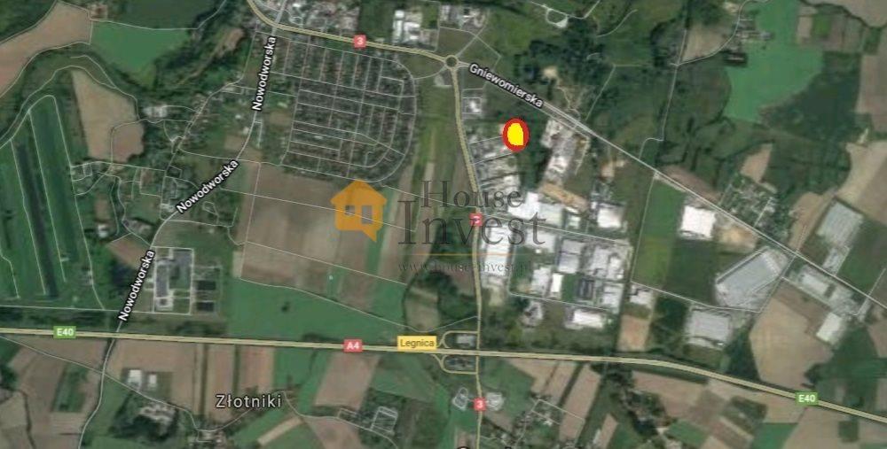 Działka komercyjna na sprzedaż Legnica, Jaworzyńska  11837m2 Foto 2