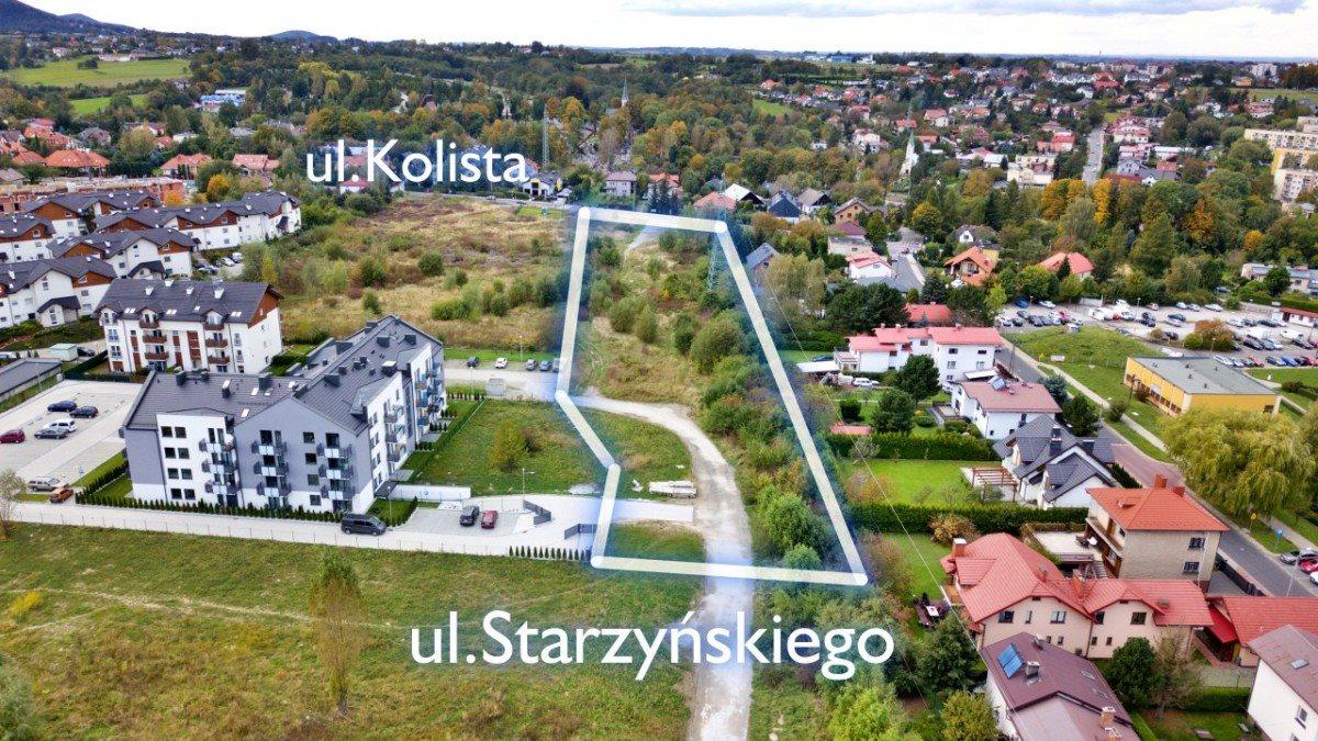 Działka budowlana na sprzedaż Bielsko-Biała, Kolista  10017m2 Foto 1