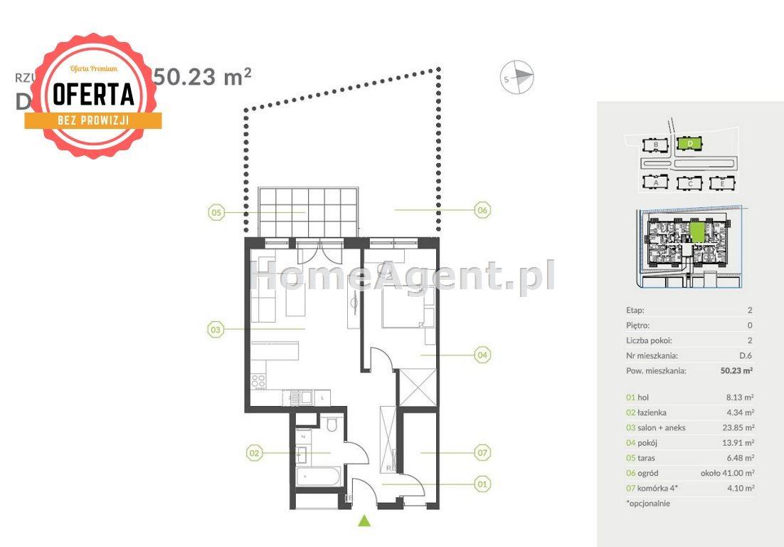 Mieszkanie dwupokojowe na sprzedaż Katowice, Podlesie  52m2 Foto 6