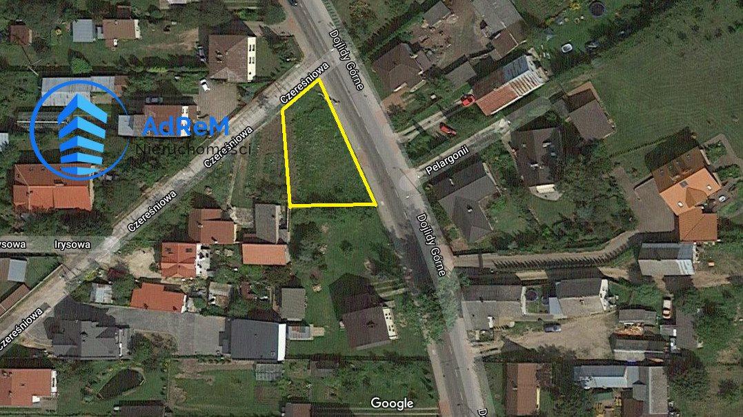 Działka budowlana na sprzedaż Białystok, Dojlidy Górne, Dojlidy Górne  476m2 Foto 1