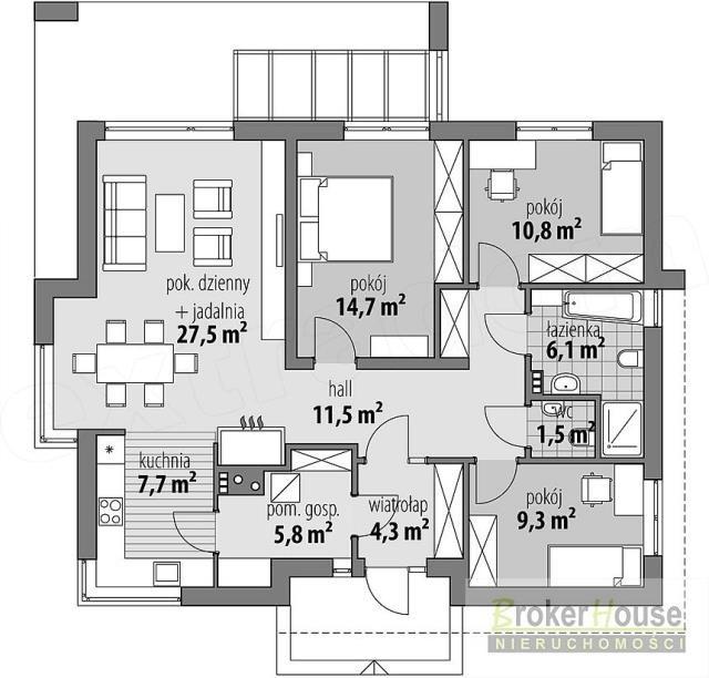 Dom na sprzedaż Górki  99m2 Foto 3