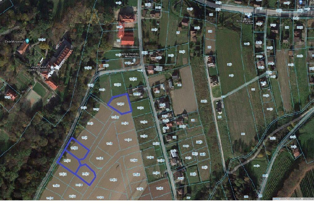 Działka budowlana na sprzedaż Marcinkowice  1200m2 Foto 1