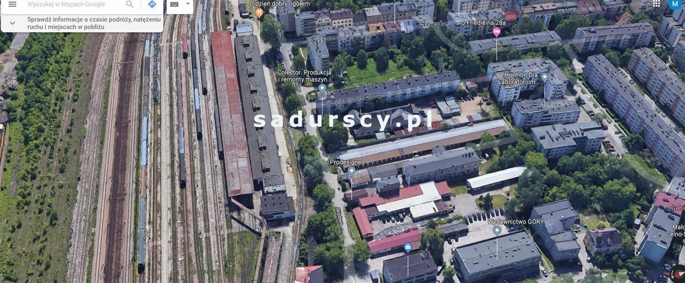 Działka inna na sprzedaż Kraków, Krowodrza, Łobzów, Składowa  605m2 Foto 1