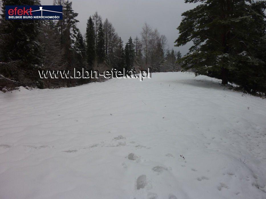 Działka leśna na sprzedaż Międzybrodzie Bialskie  3600m2 Foto 4