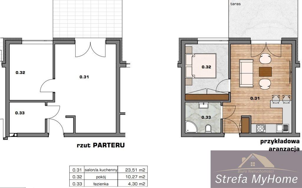 Mieszkanie dwupokojowe na sprzedaż Dziwnówek  38m2 Foto 5