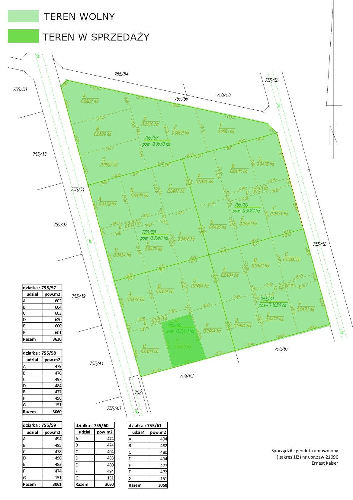 Działka rolna na sprzedaż Karwia, Atrakcyjnie położony teren  480m2 Foto 11