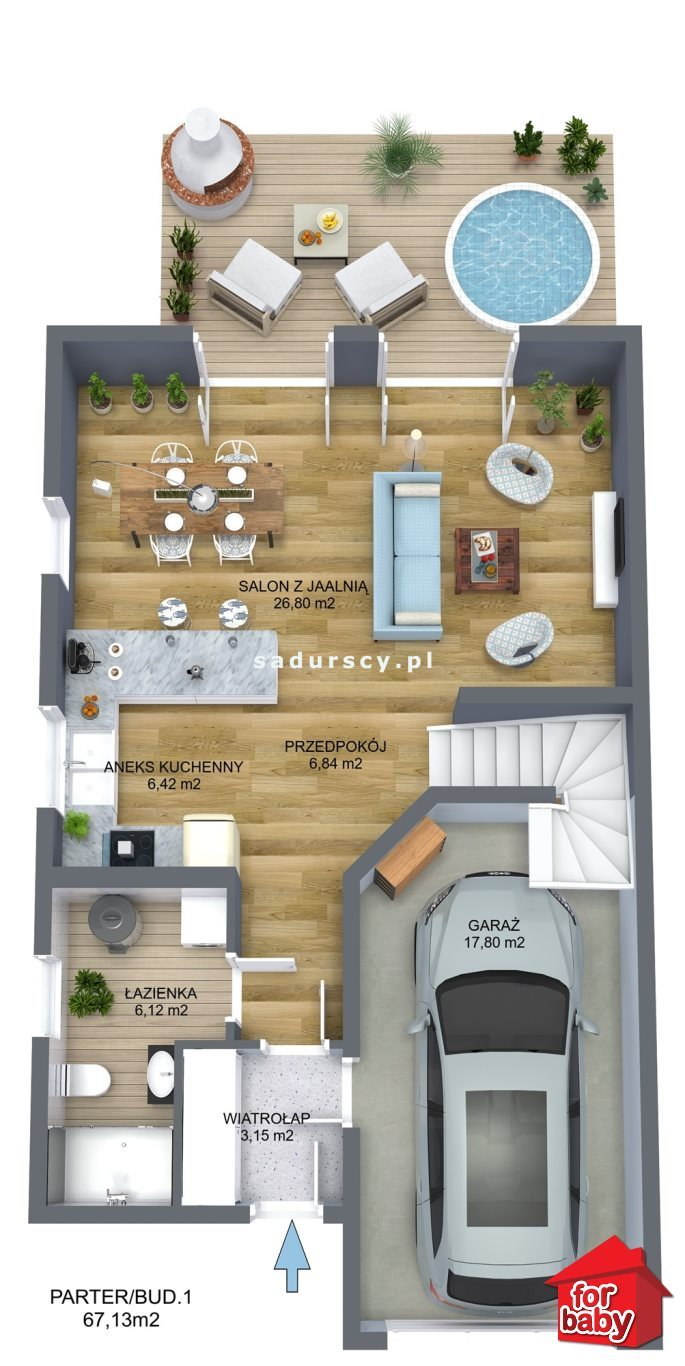 Dom na sprzedaż Liszki, Piekary, Piekary, Piekary  131m2 Foto 3