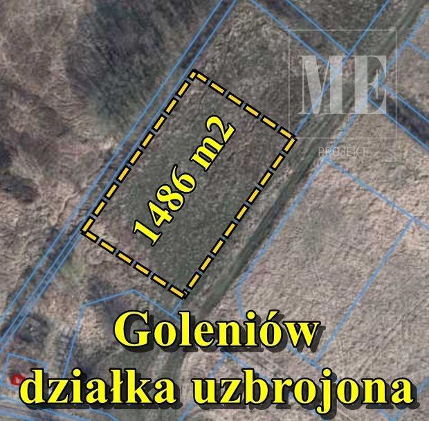 Działka budowlana na sprzedaż Goleniów  1486m2 Foto 1