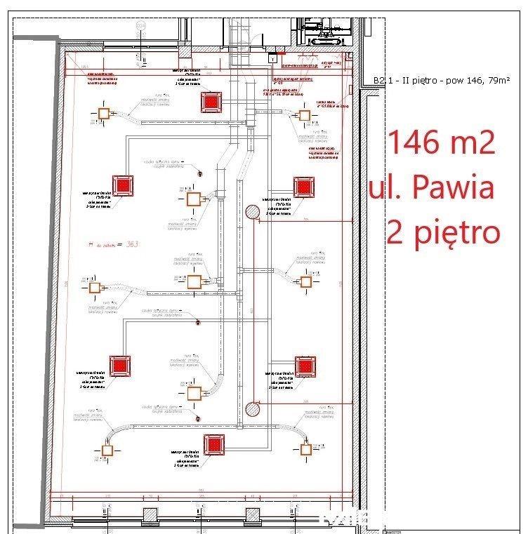 Lokal użytkowy na wynajem Kraków, Pawia  146m2 Foto 2