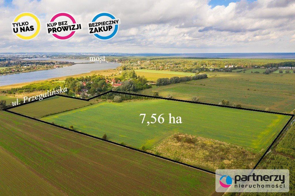 Działka siedliskowa na sprzedaż Gdańsk, Sobieszewo, Przegalińska  75640m2 Foto 1