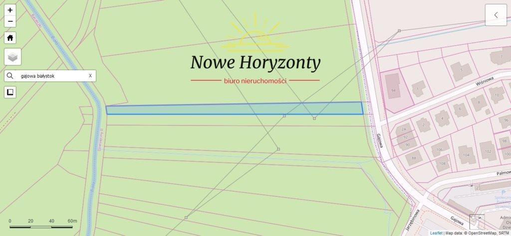 Działka inwestycyjna na sprzedaż Białystok, Dziesięciny  2500m2 Foto 1