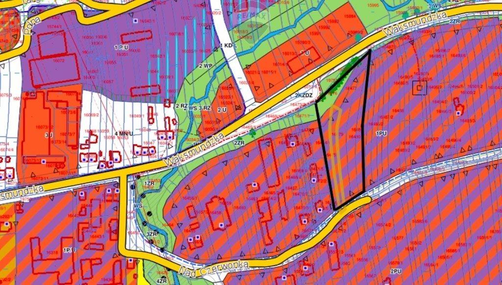 Działka przemysłowo-handlowa na sprzedaż Nowy Targ  4027m2 Foto 4