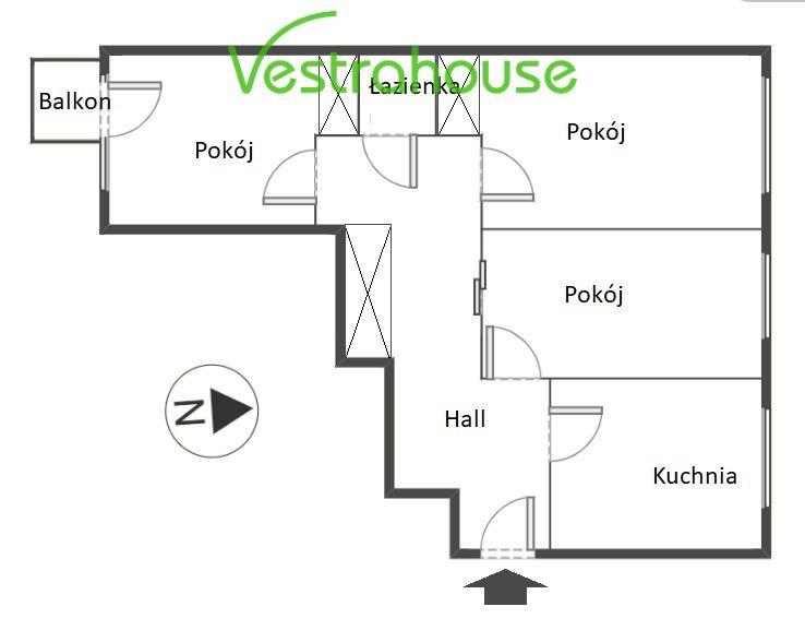 Mieszkanie trzypokojowe na sprzedaż Warszawa, Praga-Północ, Wileńska  68m2 Foto 3