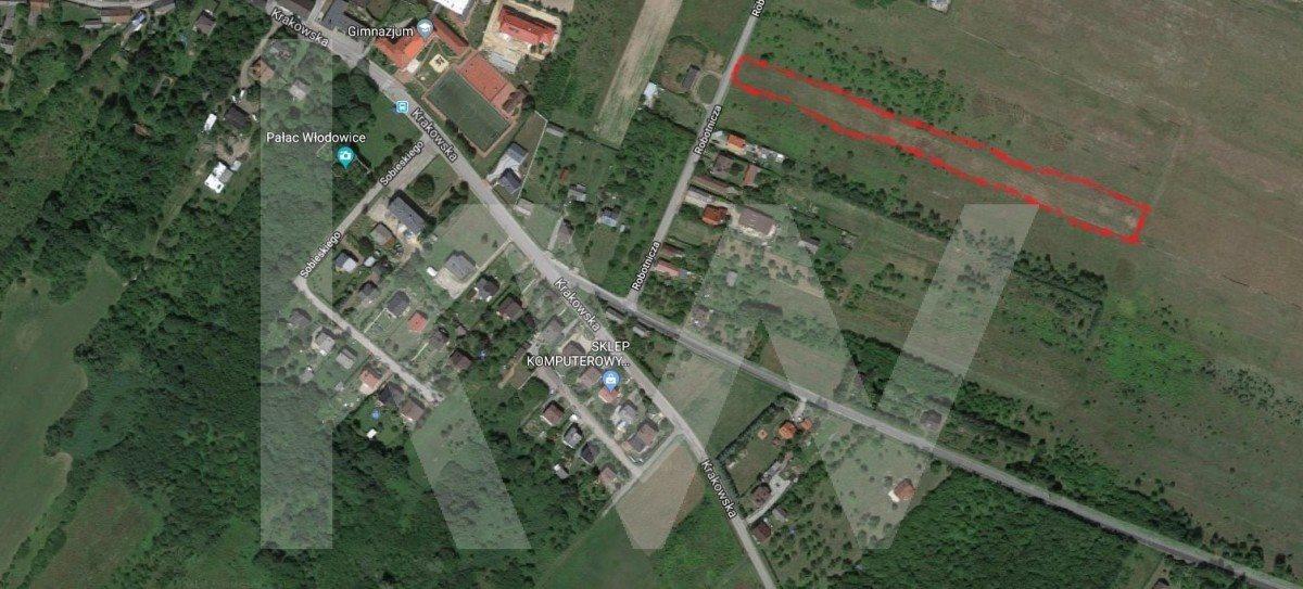 Działka budowlana na sprzedaż Włodowice, Robotnicza  6221m2 Foto 1