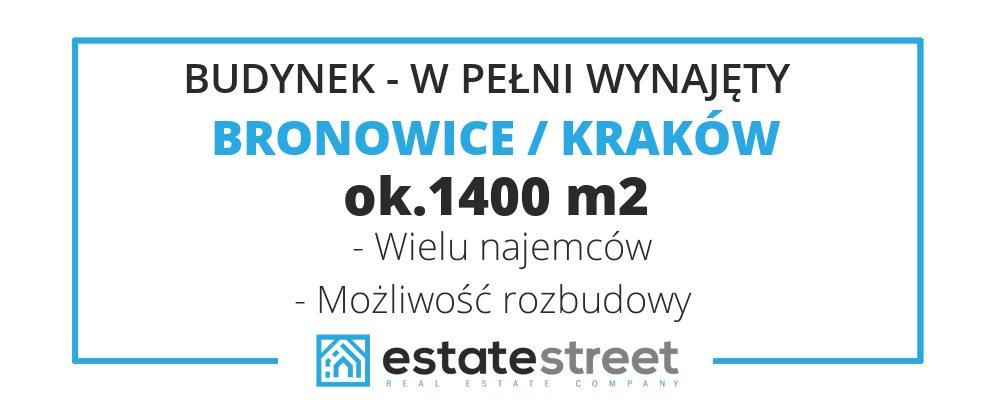 Lokal użytkowy na sprzedaż Kraków, Bronowice, Bronowice  1400m2 Foto 2