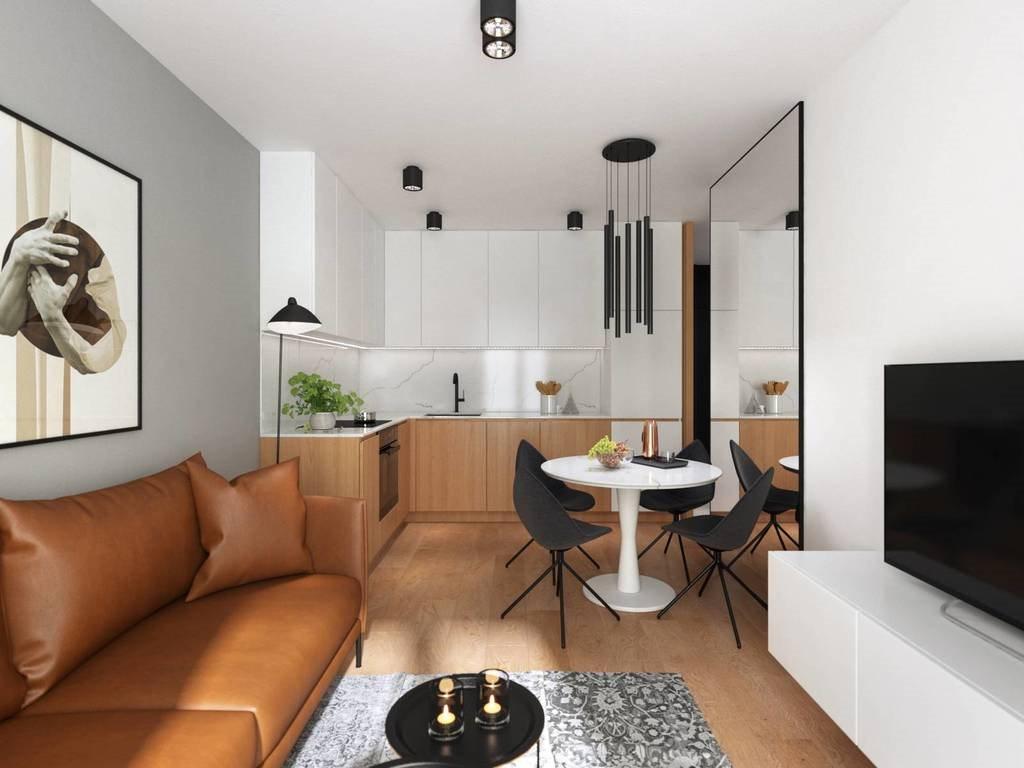 Mieszkanie trzypokojowe na sprzedaż Kraków, Mariana Domagały  46m2 Foto 2