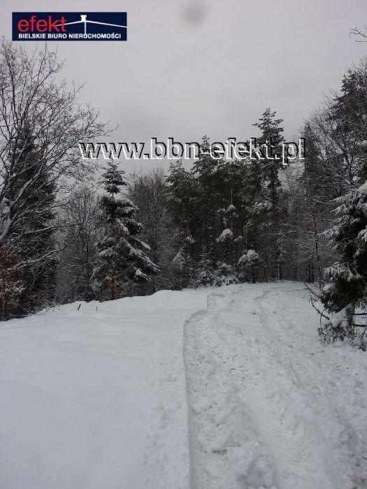 Działka leśna na sprzedaż Międzybrodzie Bialskie  3600m2 Foto 6