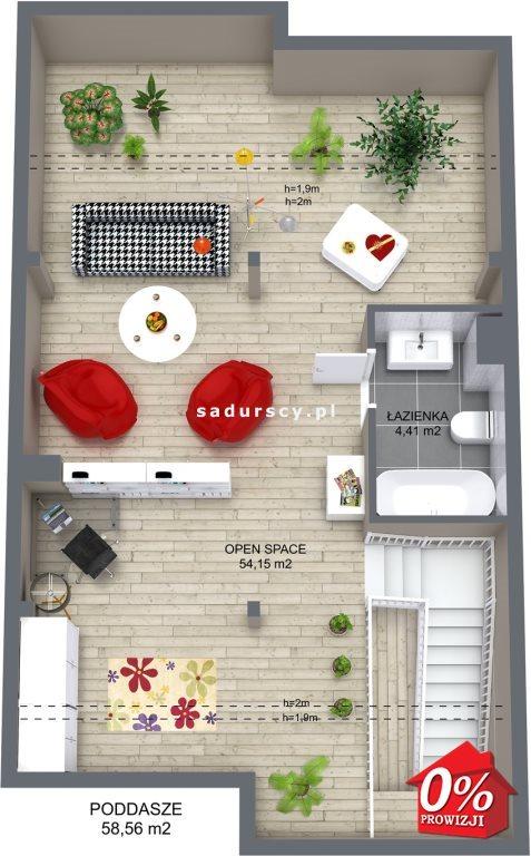 Mieszkanie trzypokojowe na sprzedaż Niepołomice, Portowa  101m2 Foto 7