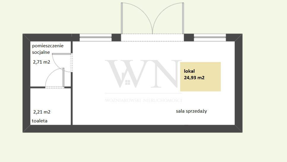 Lokal użytkowy na sprzedaż Warszawa, Włochy  25m2 Foto 2