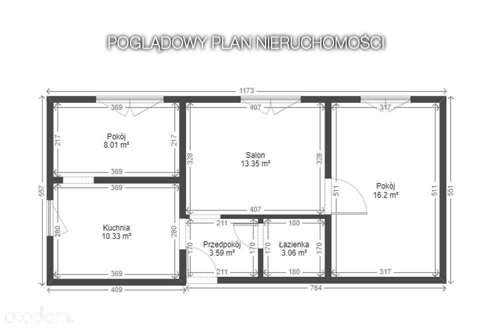 Mieszkanie trzypokojowe na sprzedaż Bytom, Miechowice, miechowice, Miechowice  62m2 Foto 8