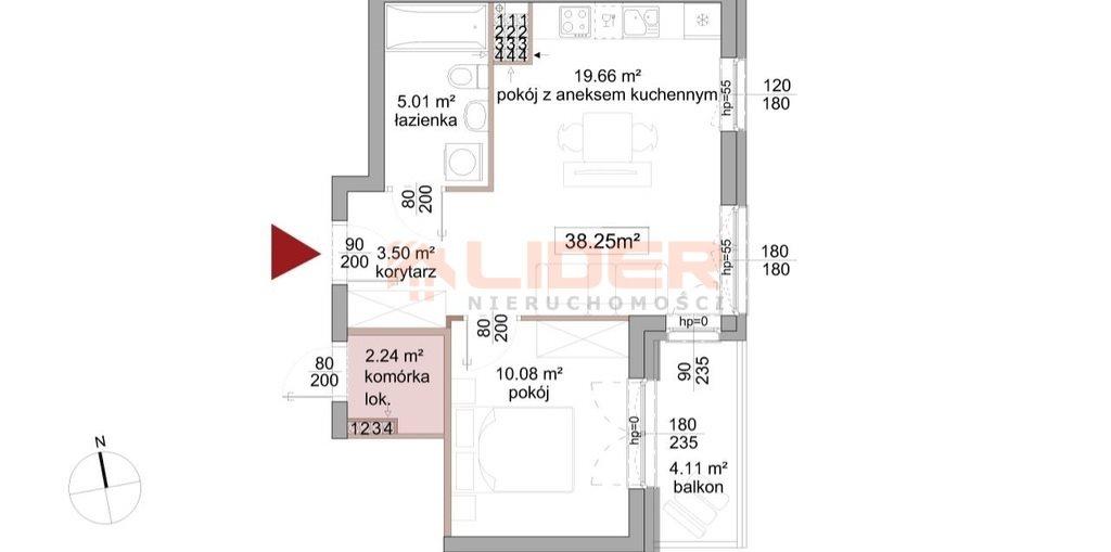 Mieszkanie dwupokojowe na sprzedaż Porosły  38m2 Foto 1