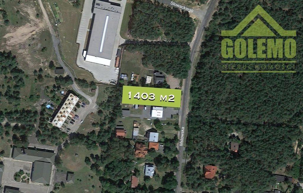 Działka budowlana na sprzedaż Olsztyn, Mstowska  1403m2 Foto 1