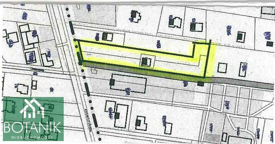Działka budowlana na sprzedaż Szerokie  4000m2 Foto 1