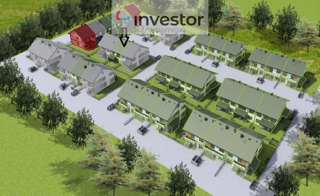Mieszkanie trzypokojowe na sprzedaż Porosły  60m2 Foto 2