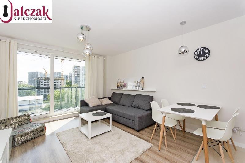Mieszkanie dwupokojowe na wynajem Gdańsk, Przymorze, KWARTAŁ UNIWERSYTECKI, SZCZECIŃSKA  43m2 Foto 1