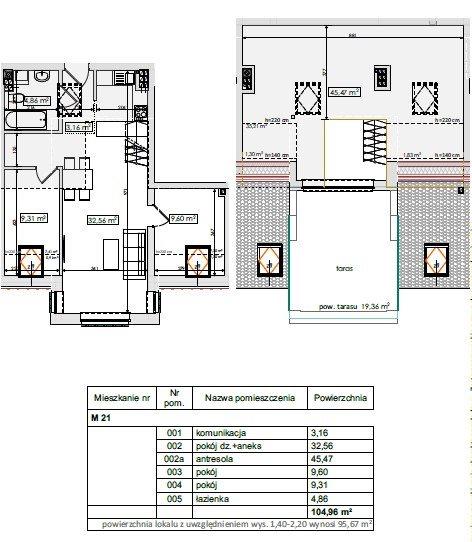 Mieszkanie czteropokojowe  na sprzedaż Mierzyn, Mierzyn  105m2 Foto 1