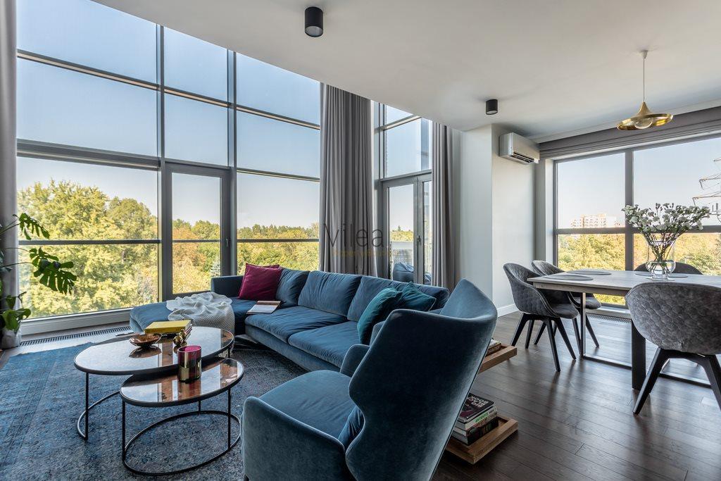 Luksusowe mieszkanie czteropokojowe  na wynajem Warszawa, Mokotów, Jana Pawła Woronicza  156m2 Foto 1