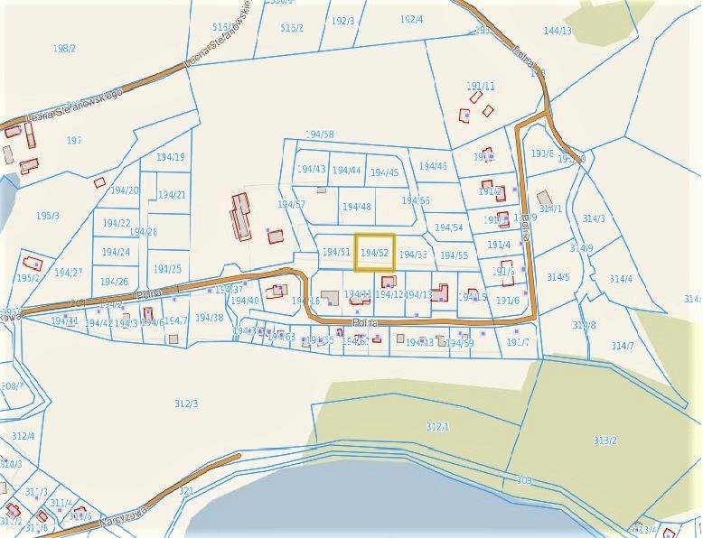 Działka budowlana na sprzedaż Koleczkowo, Jezioro, Tereny rekreacyjne, Ulica osiedlowa, Polna  1100m2 Foto 7