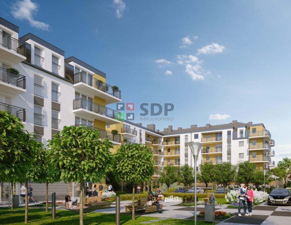 Mieszkanie dwupokojowe na sprzedaż Wrocław, Krzyki, Jagodno, Buforowa  52m2 Foto 3