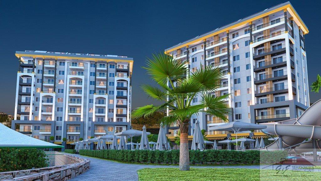 Mieszkanie dwupokojowe na sprzedaż Turcja, Alanya, Avsallar, Alanya, Avsallar  53m2 Foto 1