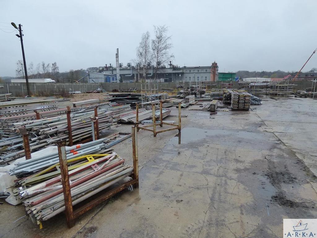 Działka przemysłowo-handlowa pod dzierżawę Szczecin, Stołczyn  5524m2 Foto 5
