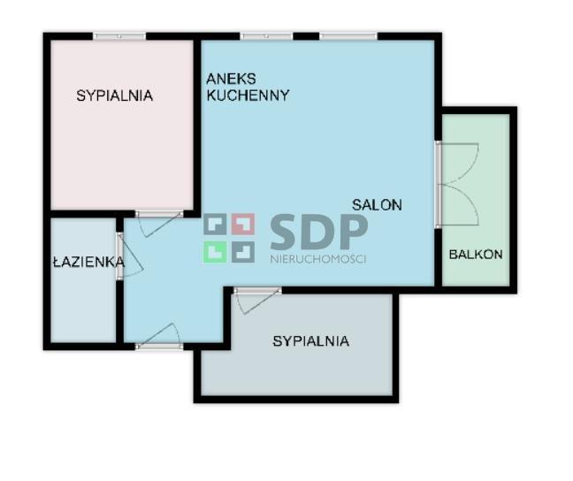 Mieszkanie trzypokojowe na sprzedaż Wrocław, Fabryczna, Stabłowice, ok. Stabłowickiej  58m2 Foto 4
