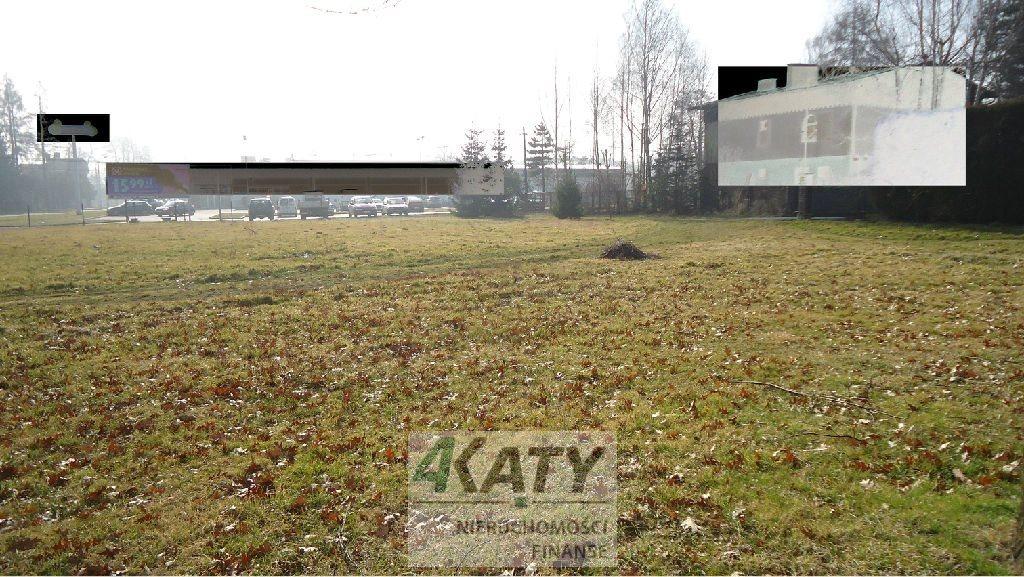 Działka przemysłowo-handlowa pod dzierżawę Strumień  1800m2 Foto 1