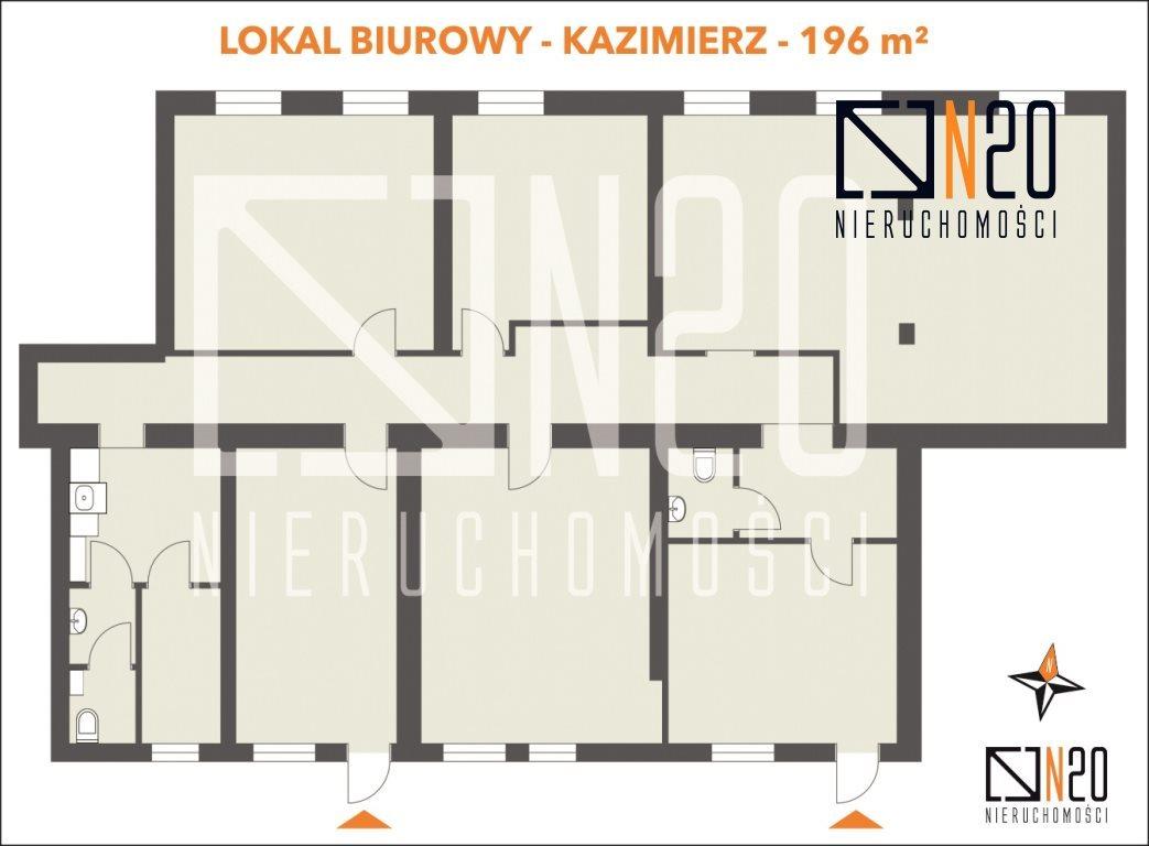 Lokal użytkowy na wynajem Kraków, Stare Miasto, Kazimierz, pl. Wolnica  196m2 Foto 4